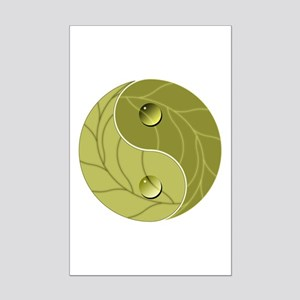 Yin Yang Nature Mini Poster Print