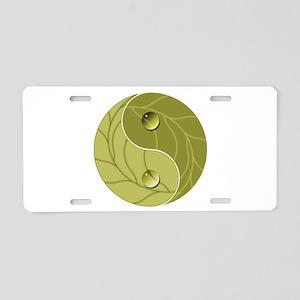 Yin Yang Nature Aluminum License Plate