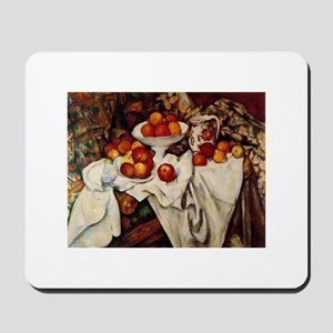 Apples and Oranges by Paul Cezanne Mousepad