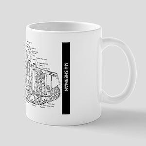 M4 SHERMAN CUTAWAY Mug