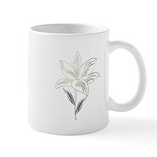 Garden Lily Drawing Mugs