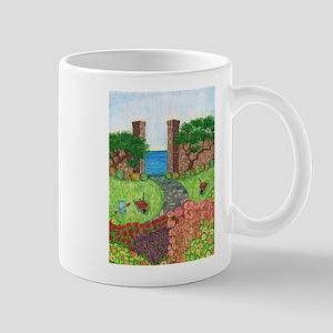 Girdners Garden Paradise Mugs