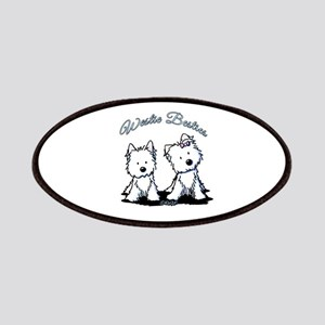 Westie Besties Patches
