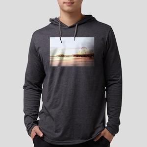 Santa Monica Pier Sunrise Long Sleeve T-Shirt