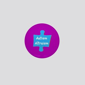Practive Autism Altruism 4Billy Mini Button