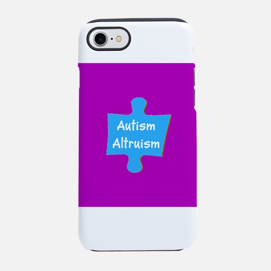 Practive Autism Altruism 4Bill iPhone 7 Tough Case