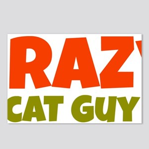 Crazy Cat Guy Postcards (Package of 8)