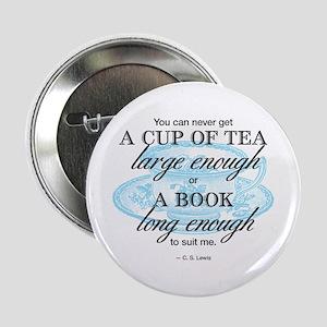 """Tea Quote 2.25"""" Button"""