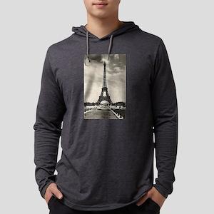 Vintage Eiffel Tower Long Sleeve T-Shirt