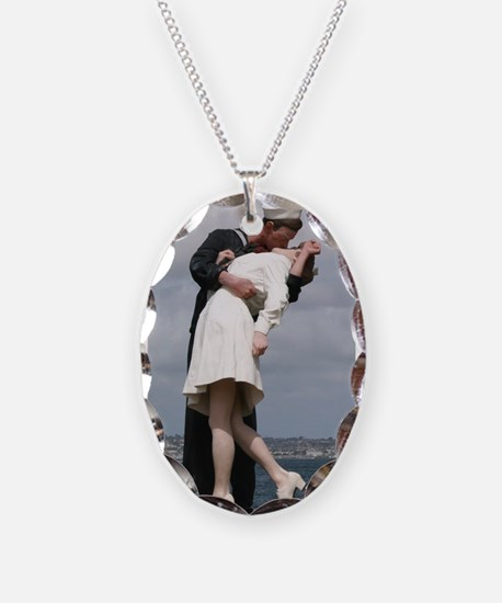 Unconditional Surrender Necklace Oval Charm