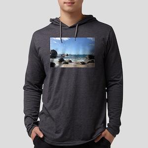 BVI Sailing Boats Long Sleeve T-Shirt