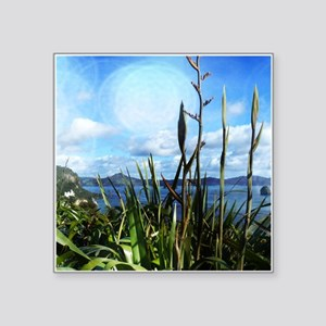 Blue Sky & Flax Sticker