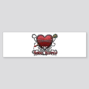 Love Hurts Sticker (Bumper)
