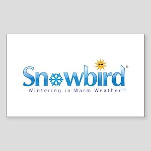 Snowbird - Wintering in Warm Weather Sticker