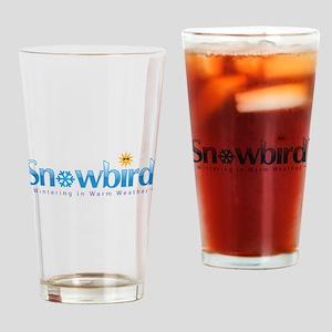 Snowbird - Wintering in Warm Weather Drinking Glas