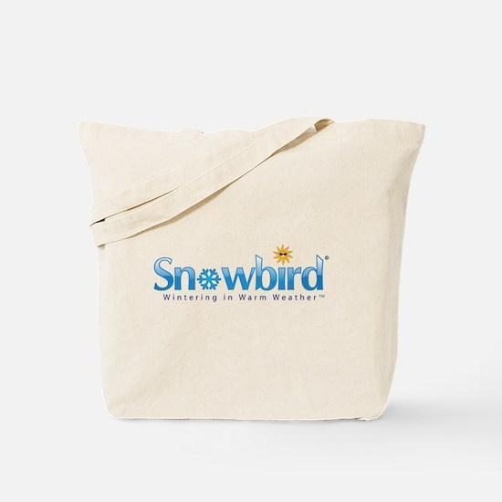 Snowbird - Wintering in Warm Weather Tote Bag