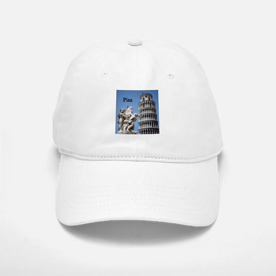 Customizable Leaning Tower of Pisa Souvenir Baseball Baseball Cap