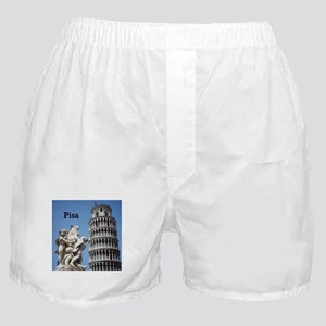 Customizable Leaning Tower of Pisa S Boxer Shorts
