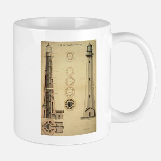 Tybee Island Light. Mug