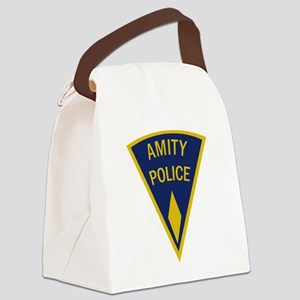 Amity Police Logo Canvas Lunch Bag