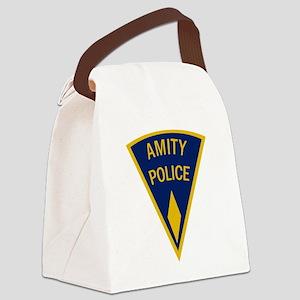 Amity Police Logo Canvas Lunch Bag