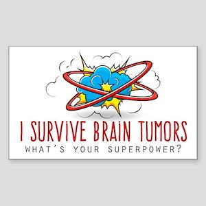 I Survive Brain Tumors Sticker