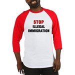 Stop Illegal Immigration Baseball Jersey