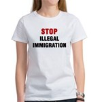 Stop Illegal Immigration Women's T-Shirt