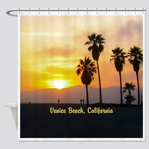 Personalized Venice Beach Californi Shower Curtain