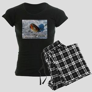 Robin in the Snow Pajamas