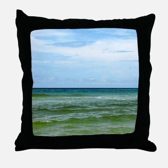 Photograph of Ocean Horizon Throw Pillow