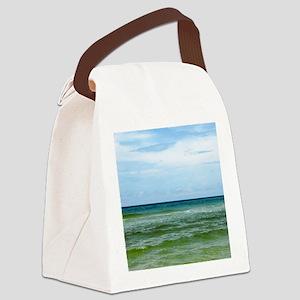 Photograph of Ocean Horizon Canvas Lunch Bag