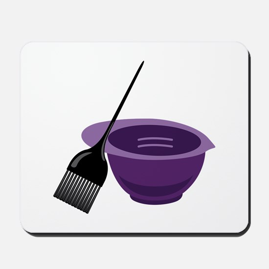 Hairdresser Colorist Tools Mousepad