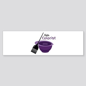 Master Colorist Bumper Sticker