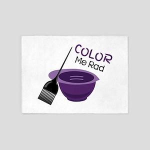 Color Me Rad 5'x7'Area Rug
