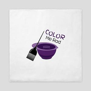 Color Me Rad Queen Duvet