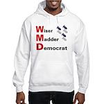 WMD Wiser Madder Democrat Hooded Sweatshirt