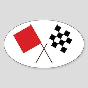 Racing Flags Sticker