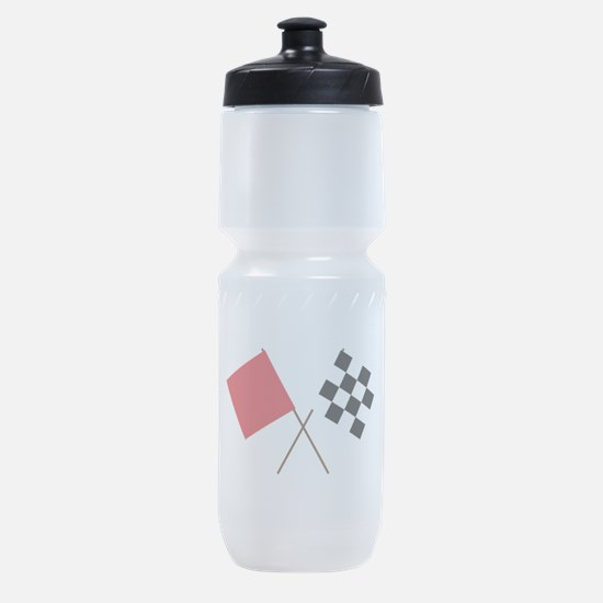 Racing Flags Sports Bottle