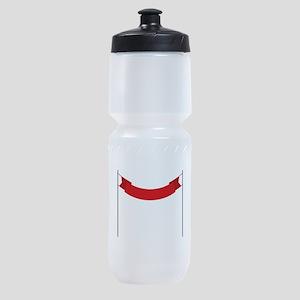 Race Finish Line Sports Bottle