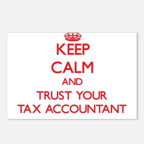 Keep Calm and trust your Tax Accountant Postcards