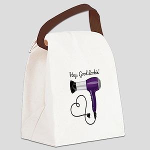 Hey Good Lookin Canvas Lunch Bag