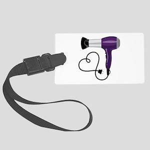 Hair Dryer Luggage Tag