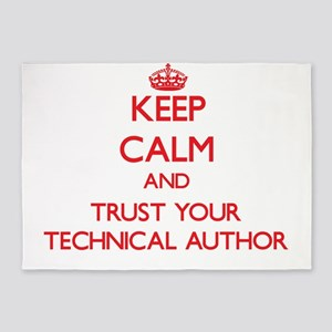 Keep Calm and trust your Technical Author 5'x7'Are