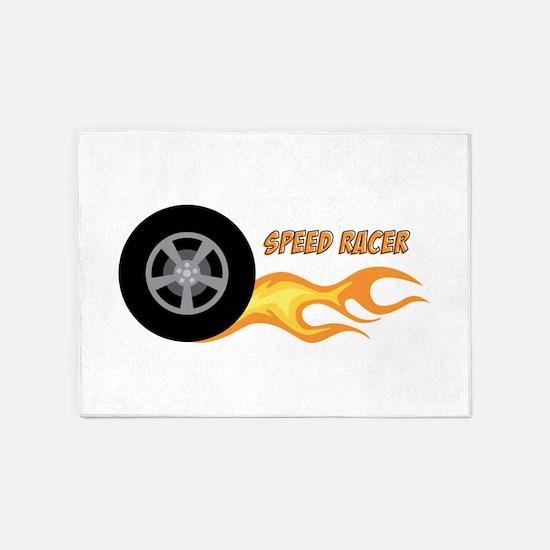 SPEED RACER 5'x7'Area Rug