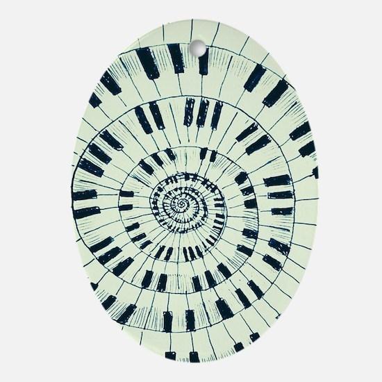 Strange Melody IIV Oval Ornament