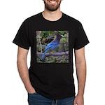 Steller's Jay on Branch Dark T-Shirt