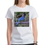Steller's Jay on Branch Women's T-Shirt