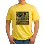Steller's Jay on Branch Yellow T-Shirt