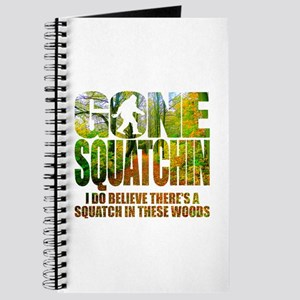 Gone Squatchin *Wooded Path Edition* Journal